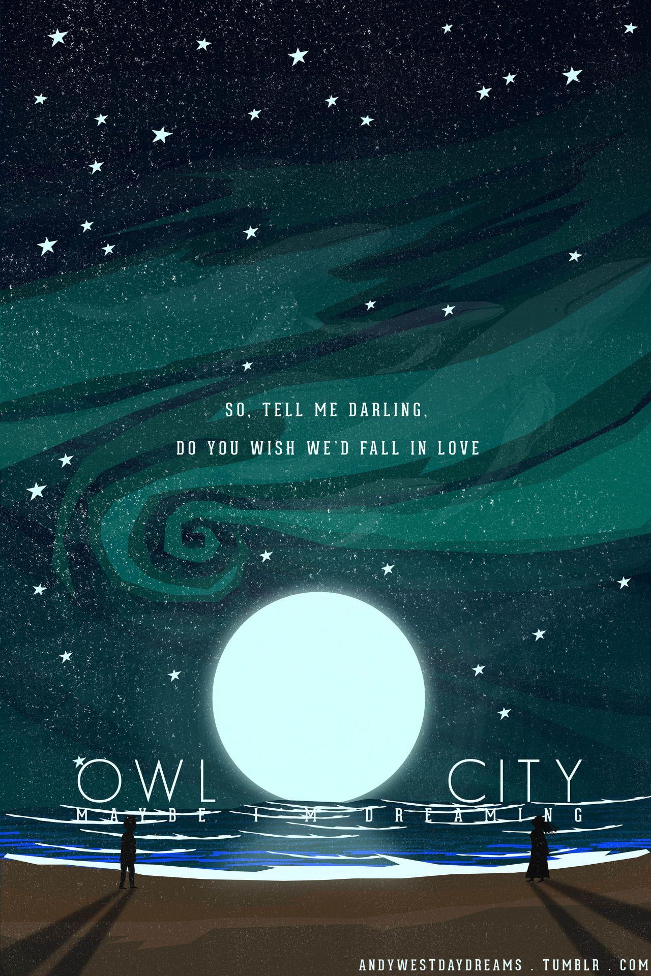 Lyrics From The Saltwater Room By Owl City Owl City Lyrics Owl
