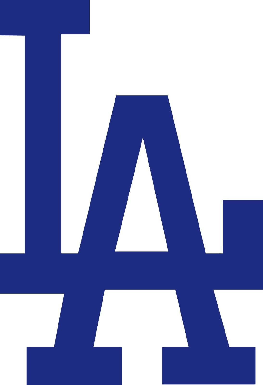 aa56c3954 LOS ANGELES DODGERS LA Logo * Window WALL DECAL * Vinyl Car STICKER ~ ANY  COLOR