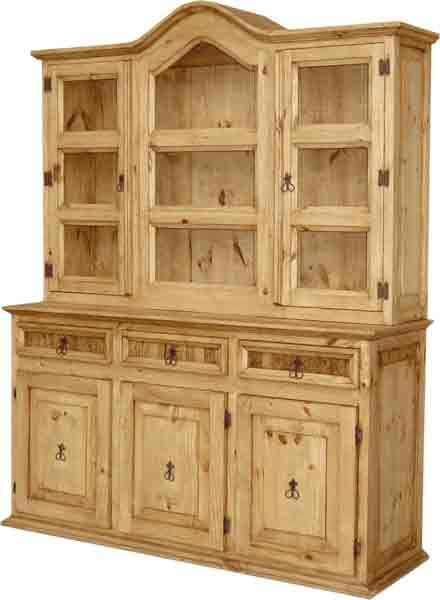 China Cabinets Rustic Mexican Furniture