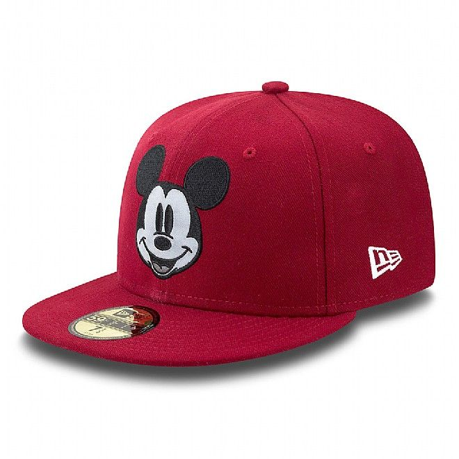 Disney Mickey Mouse Custom 59FIFTY   All Mickey!   Pinterest ... b5a0b8bdbefe