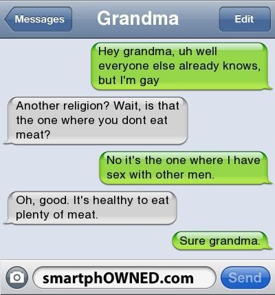 funny gay texts - Google Search