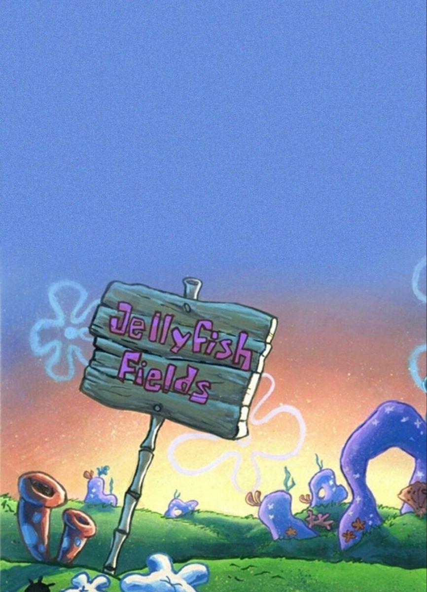 𝐉𝐞𝐥𝐥𝐲𝐟𝐢𝐬𝐡 𝐟𝐢𝐞𝐥𝐝𝐬 Field Wallpaper Spongebob Wallpaper Background Hd Wallpaper