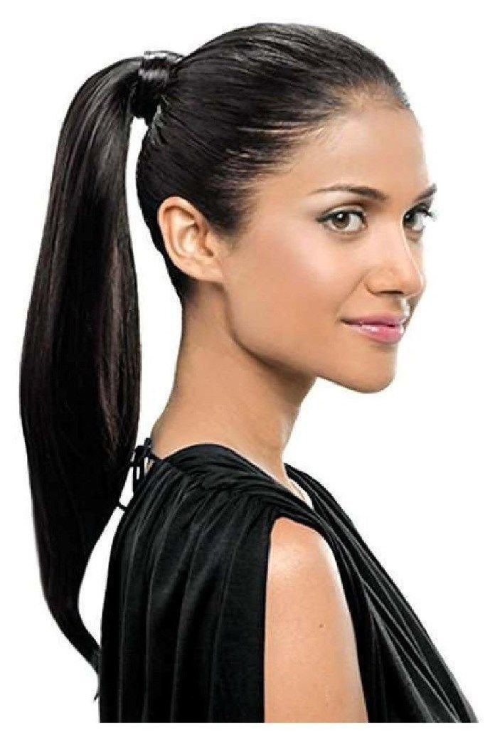 Simply Straight Pony Tail Hairdo Hair Extension 18 Long Wrap Around