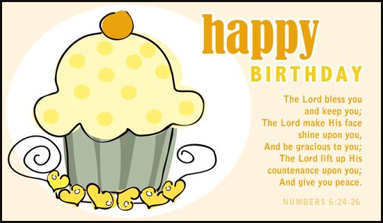 Numbers 6 24 26 Ecard Personalized Birthday Cards Birthday Card Online Christian Birthday Cards