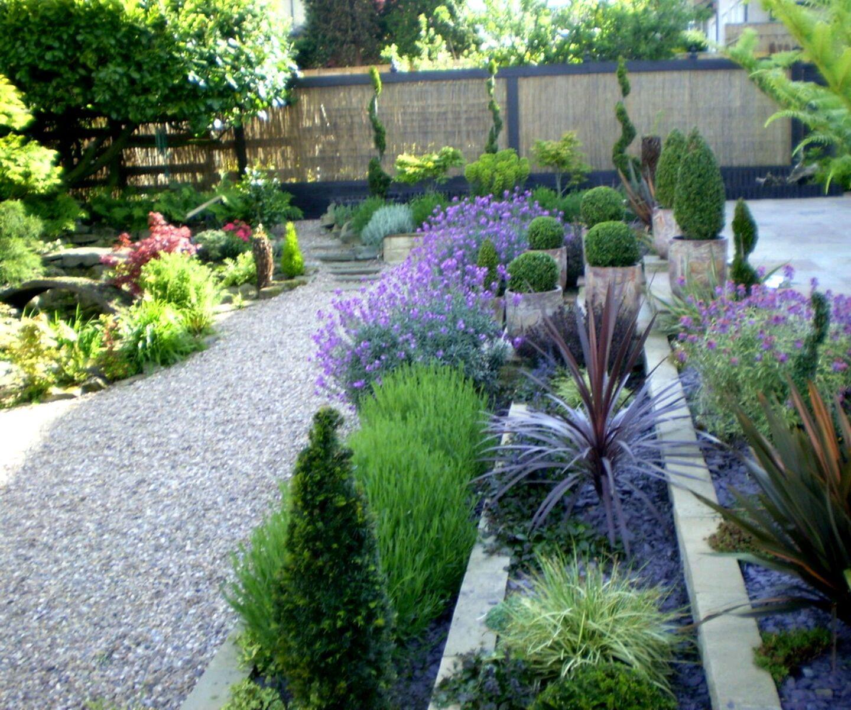 Modern Garden Design New Zealand Backyard garden, Small