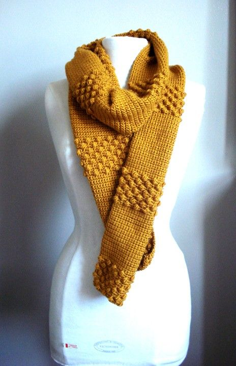 Could be done knitted or tunisian crochet