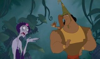 Kronk (Yzma, and Bucky the Squirrel) from Emperors New Groove