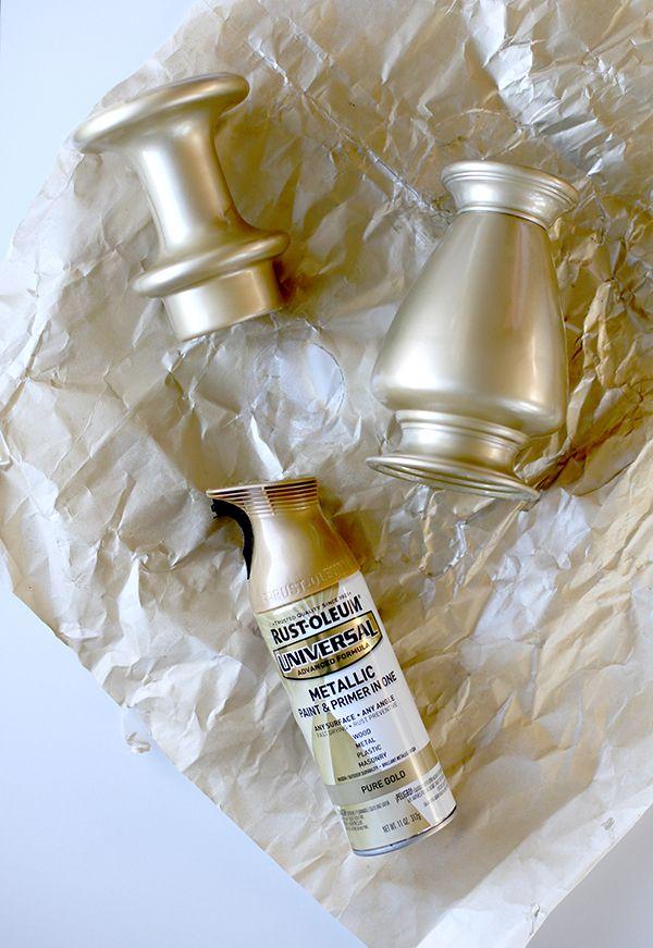 how to make metallic paint