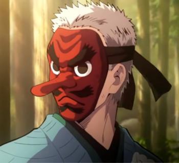 Sakonji Urokodaki em 2020 Personagens de anime, Desenho