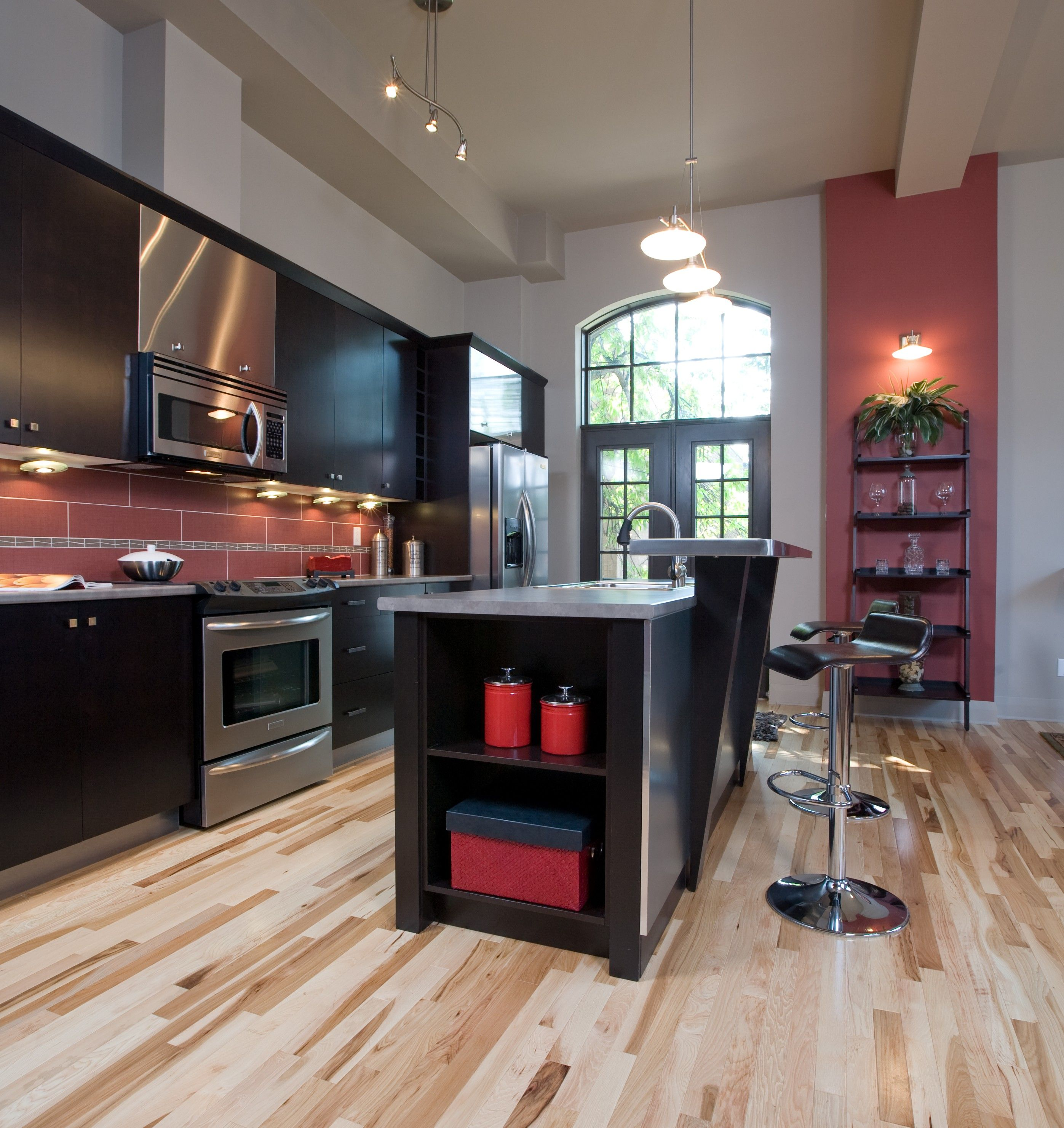 Engineered Wood Flooring In Kitchen Appalachian Engineered Hardwood Appalachian Hickory Natural