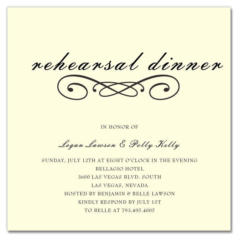 Rehearsal Dinner Invitations Templates Dinner Invitation - dinner invitations templates