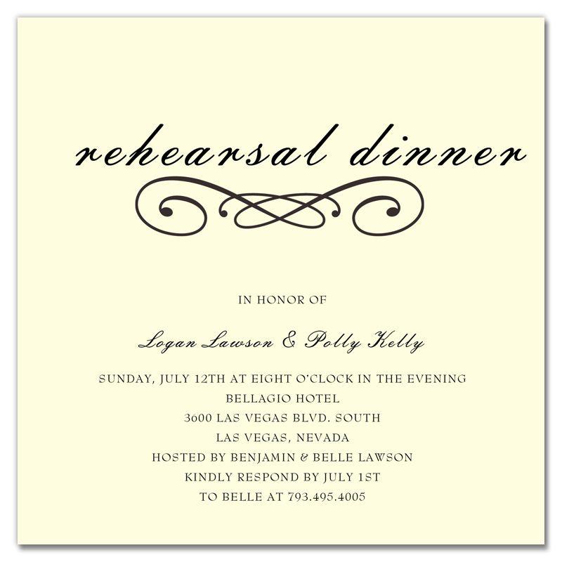 Rehearsal Dinner Invitations Templates Dinner Invitation - dinner invitations templates