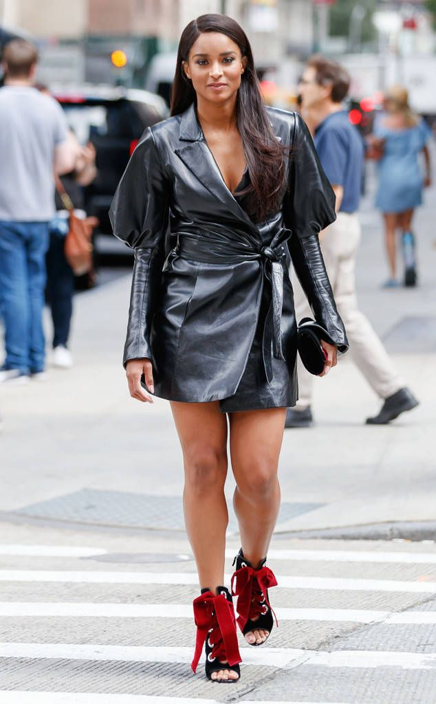 Ciara From Best Celeb Street Style From Nyfw Spring 2018 Pinterest Street Styles Street And