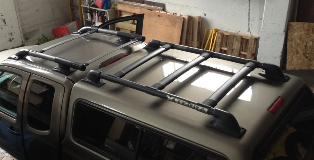 Xterra Roof Rack On A Leer Cap Project With Photos Page 2 Nissan Frontier Navara Forum Truck Roof Rack Roof Rack Nissan Frontier