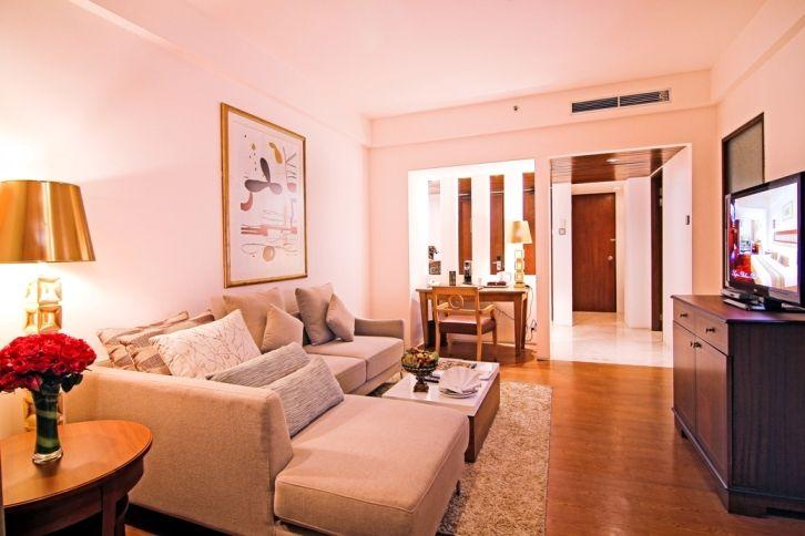 living room suite room at Kuta Paradiso Hotel Bali | Hotel dan ...