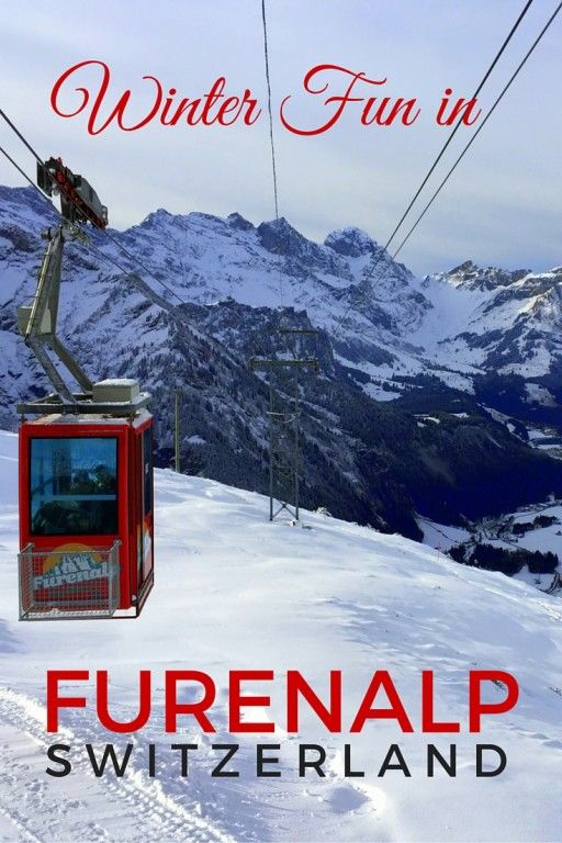 Winter Fun and tips on visiting the Central Swiss Alps and the alpine gem of Furenalp Switzerland with kids.