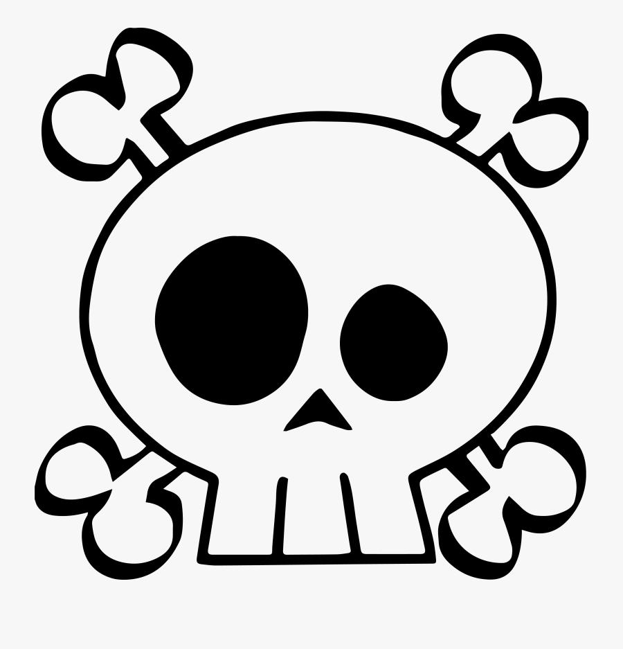 Cute Skull Flash Art Sticker Baby Skull And Crossbones Is A Free Transparent Background Clipart Image Uploaded By Sticker Art Flash Art Skull And Crossbones