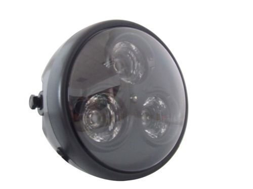 Universal-6-3-4-Matt-Black-LED-Motorcycle-Headlight-Cafe-Racer-Streetfighter