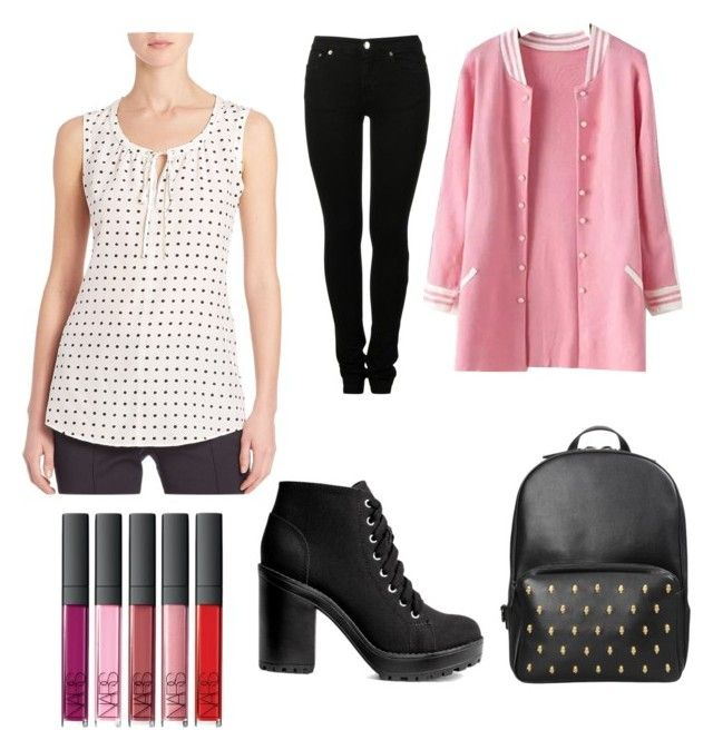 """for a game"" by may-chan-elf on Polyvore featuring Akris Punto, MM6 Maison Margiela and H&M"