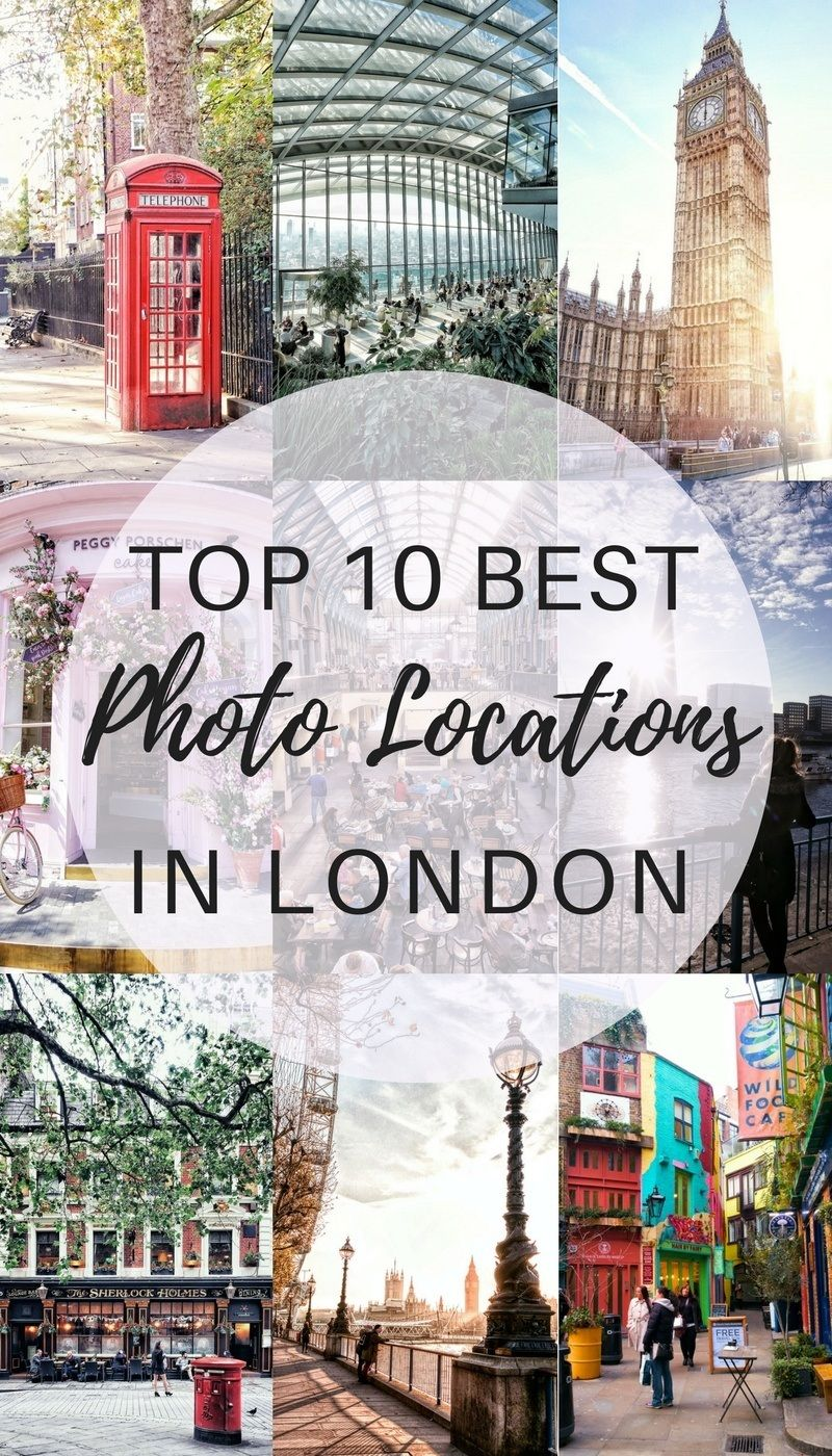 Iconic Photo Locations in London: 10 Not to Be Missed Spots | solosophie #travelengland