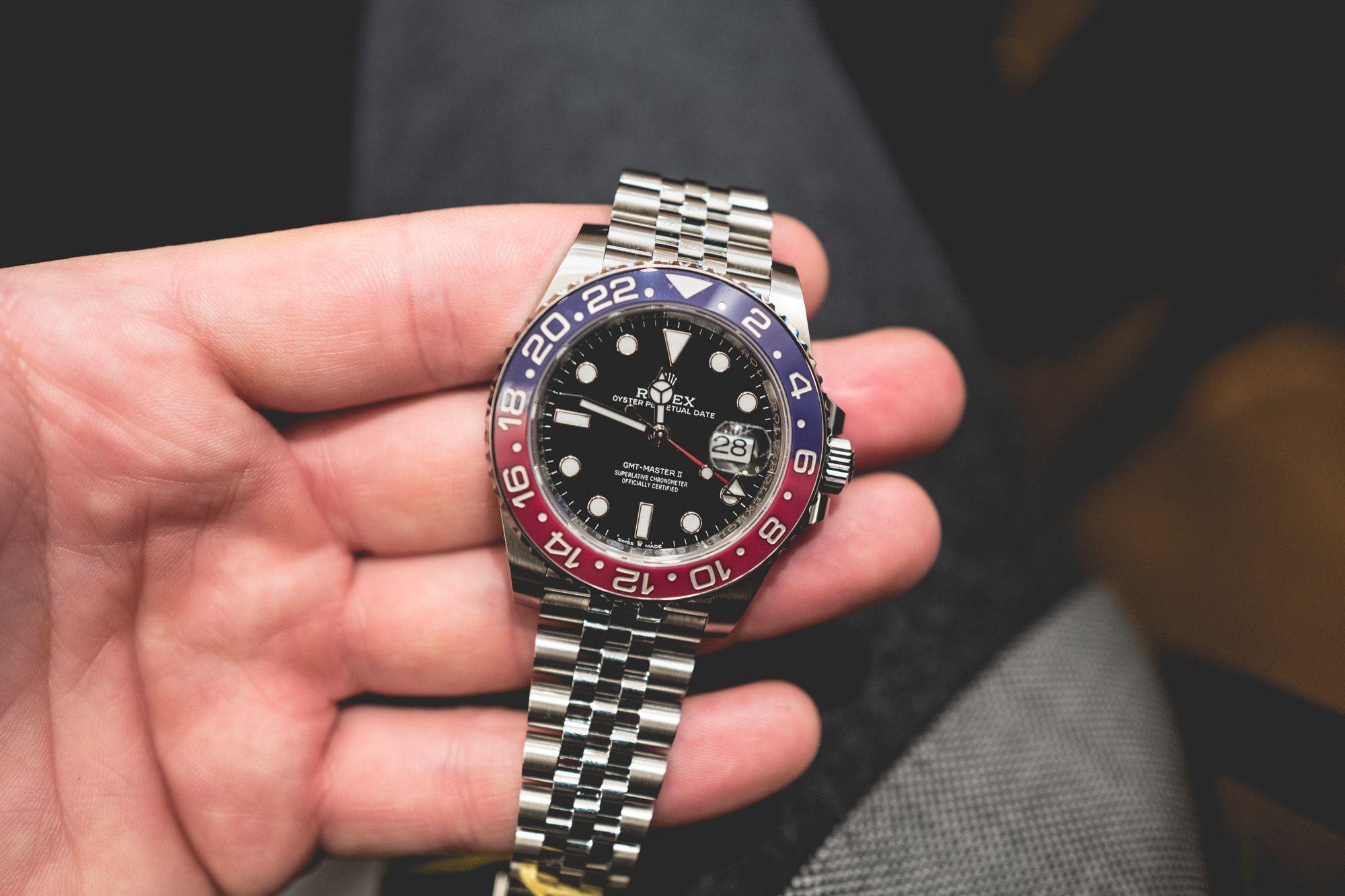 brand new cc658 826cd Baselworld 2018 : Le retour de la Rolex GMT-Master | 時計 | 時計