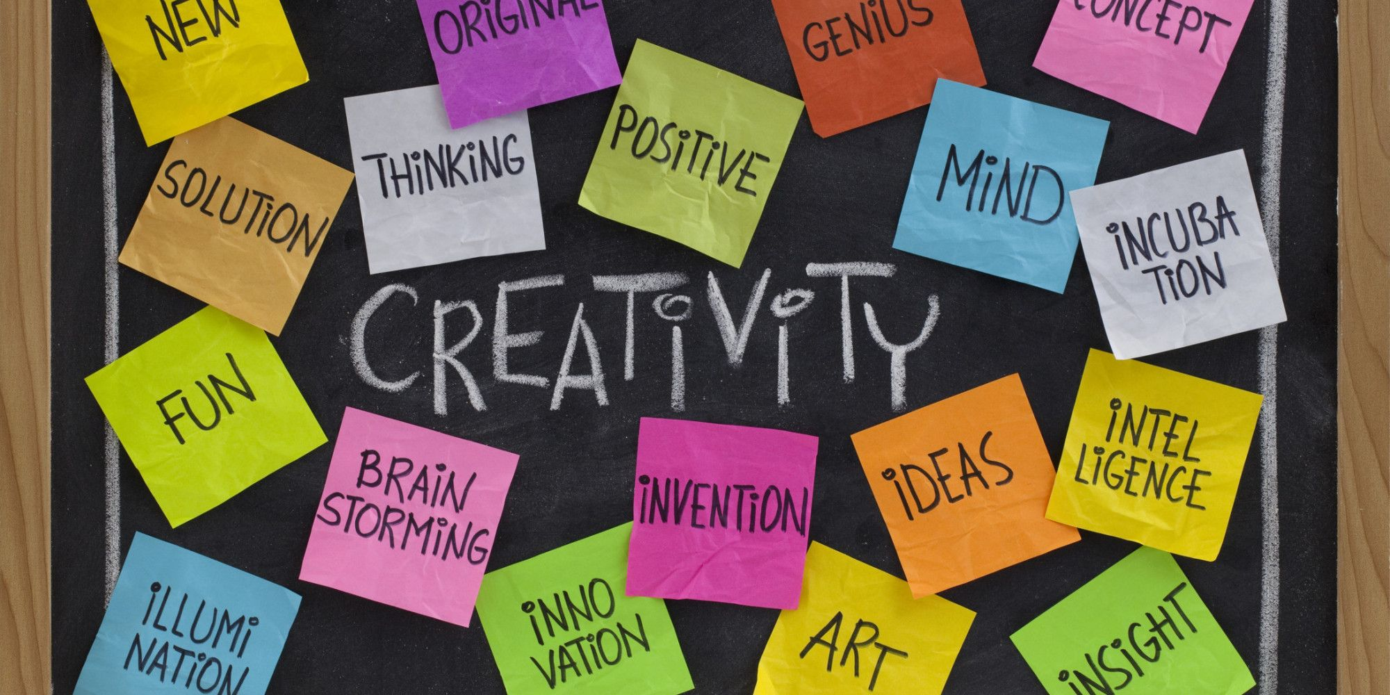 Unleash Your Creativity. Interesting points in here about environment.