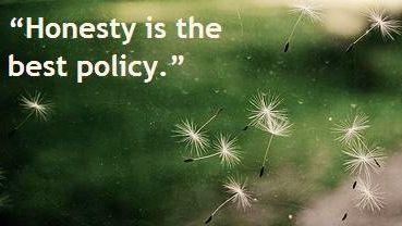 Honesty quote via www.Facebook.com/BeYourself09 | Honesty ...