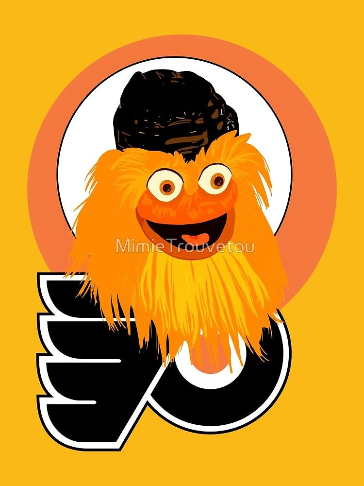 The head of mascot Gritty the Flyers by MimieTrouvetou  gritty  hockey   flyers -  x   onlineshop  shopping  gifts  birthdaygifts  giftideas   giftsforhim ... 071c1f584