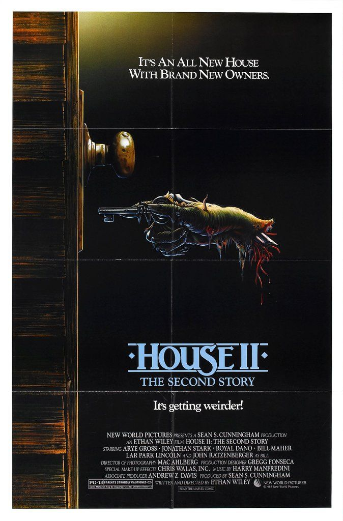 House 2! Time for some #80s #Halloween #Horror #Movie