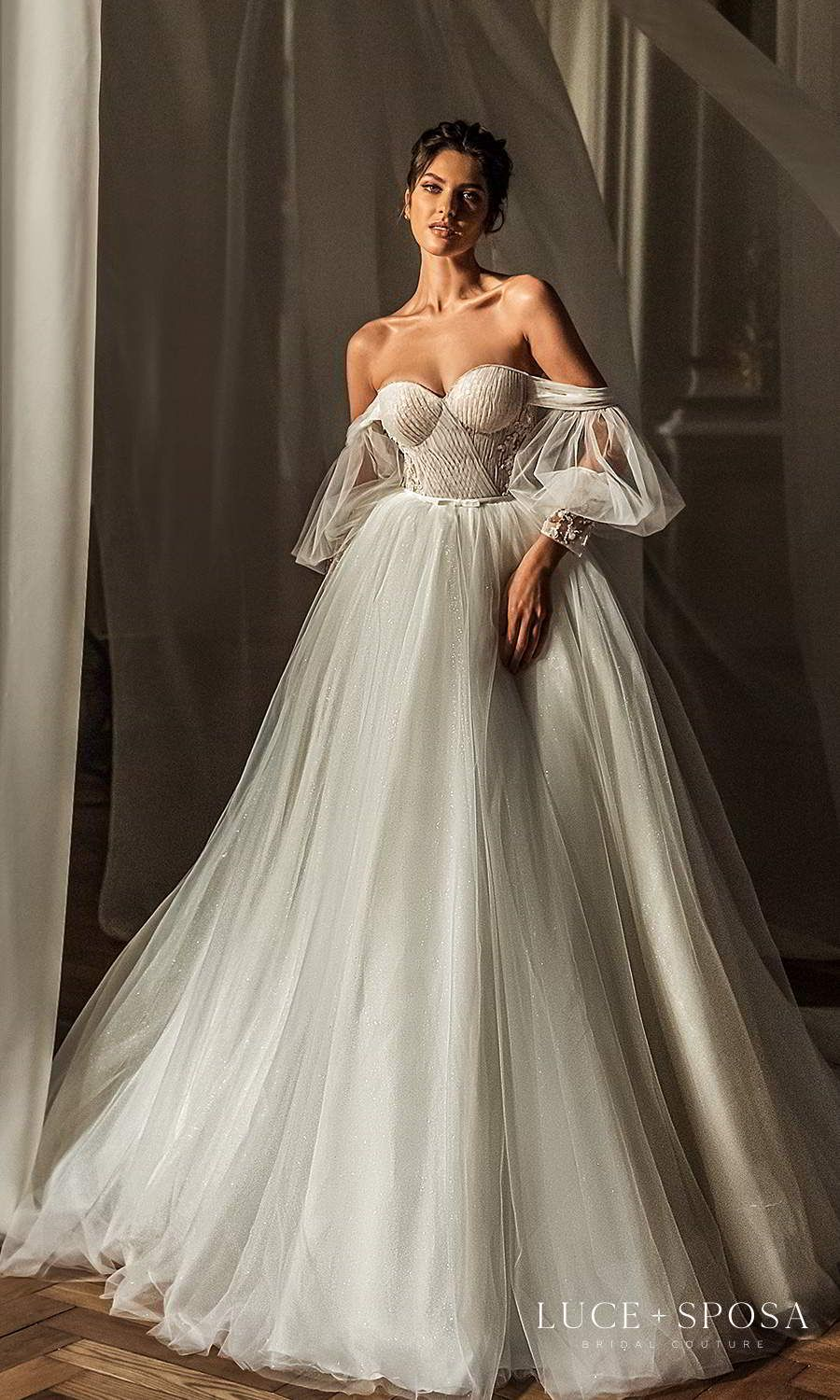 """Luce Sposa 2021 """"Shades of Couture"""" Wedding Dresses"""