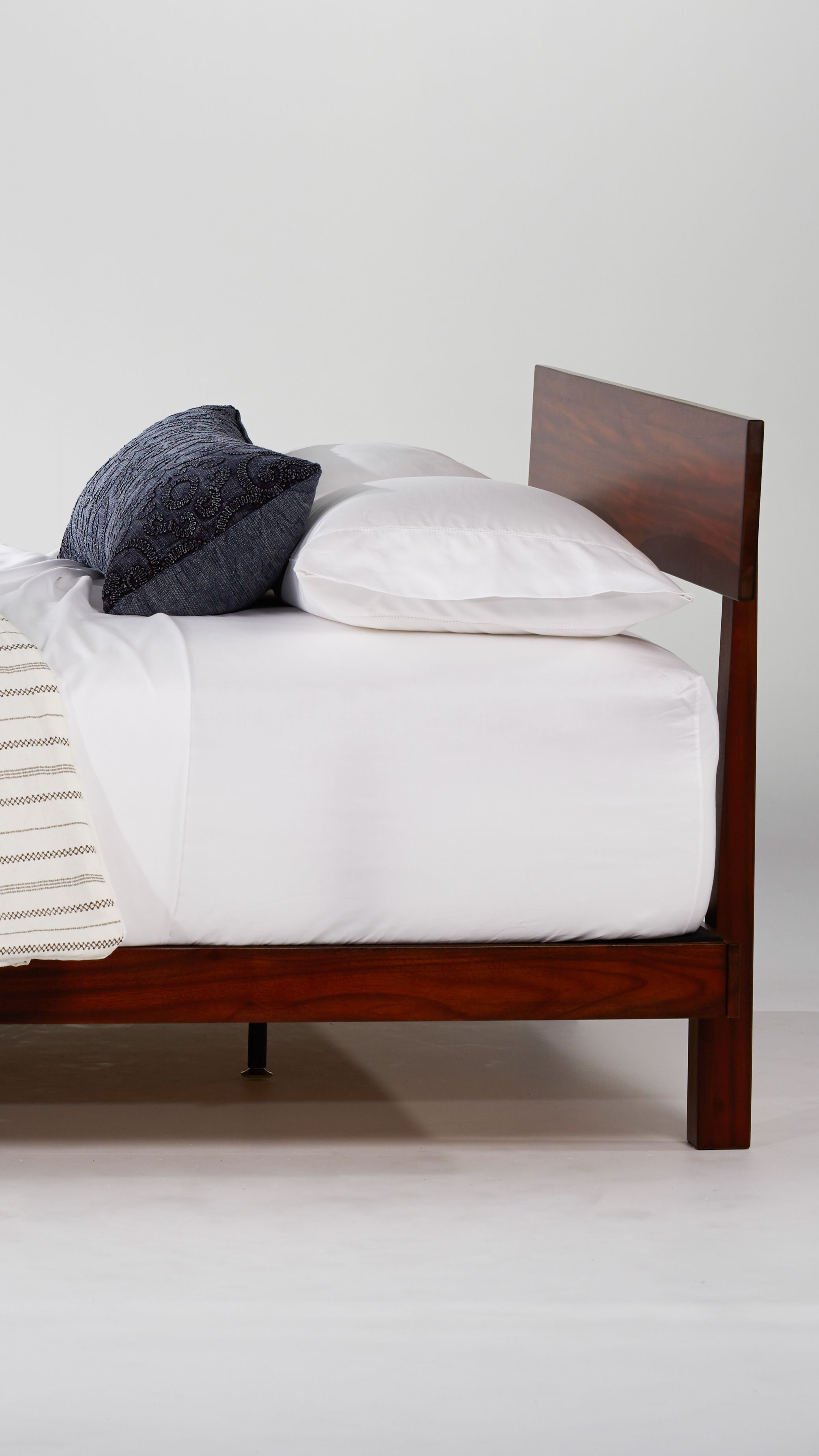 Rogers Alana Wood Platform Bed Is The Perfect Mid Century Accent