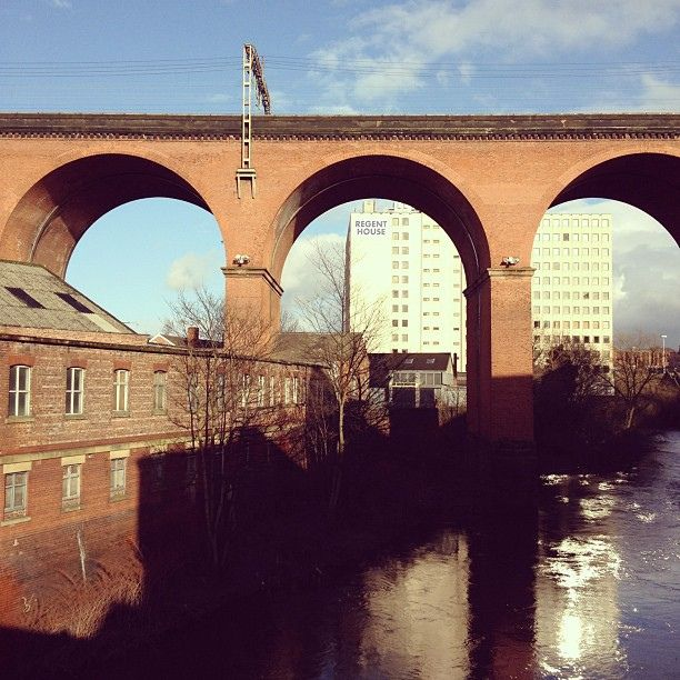 Over 11 million bricks make Stockport Viaduct. by juliusgb, via Flickr  Julius Beltrame
