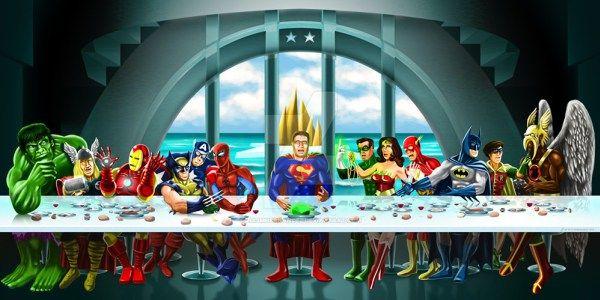 16 Parodies Of The Last Supper Leonardo Da Vinci Art Painting