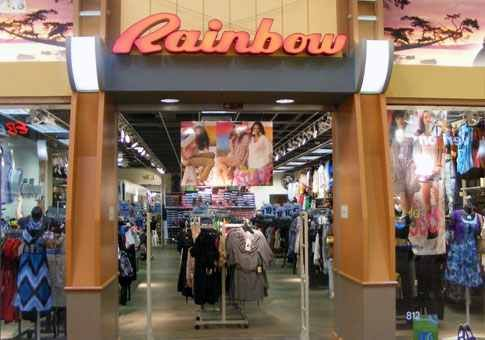 The Rainbow Store. I'd love a gift Card from the one in ... Rainbow Shops