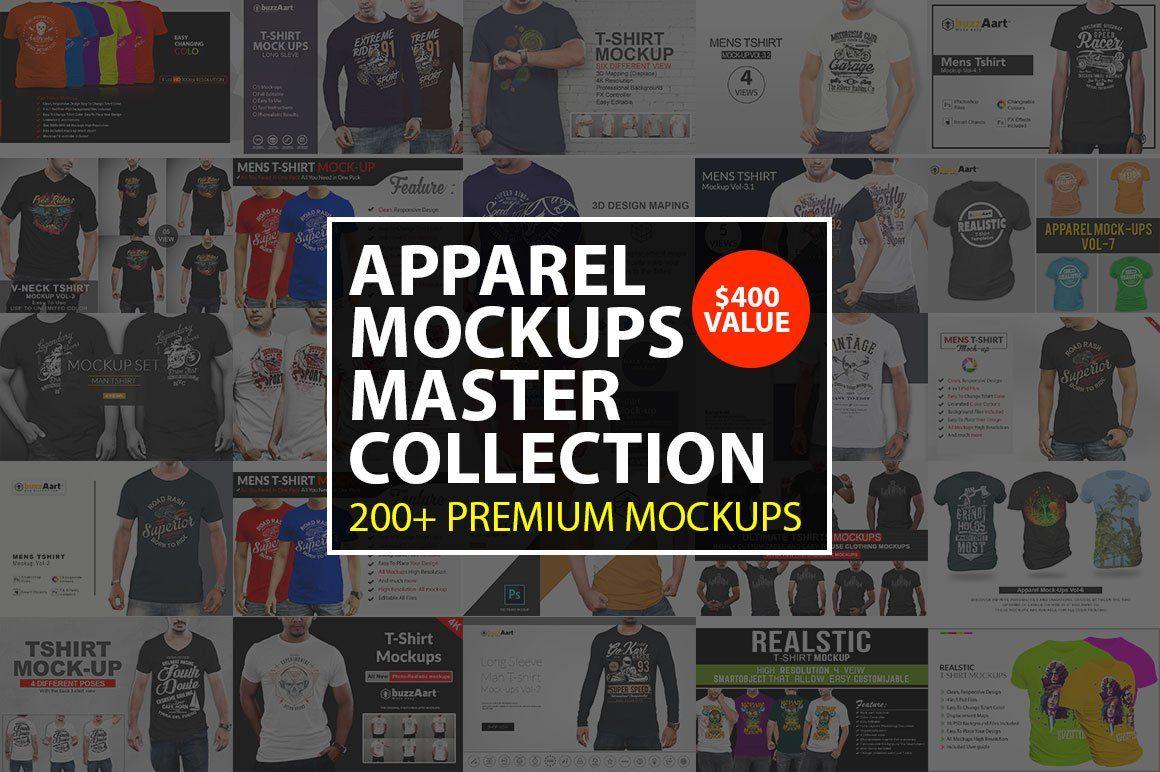 Apparel MockUps Master Collection #Ad , #AD, #dropshipping