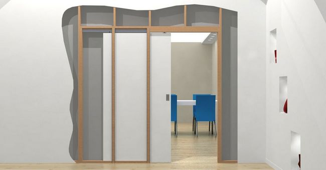 Interior Sliding Doors Hidden Provide Many Benefits For