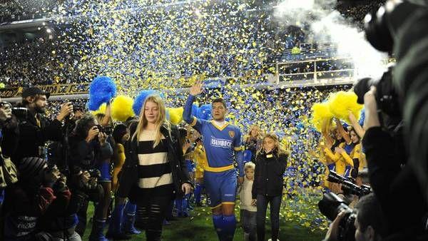 Homenaje en la Bombonera: Battaglia tuvo su gran fiesta, rodeado de ídolos de Boca-Fútbol - http://befamouss.forumfree.it/?t=71075107