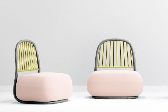 New Circe Lounge chair in pink by Ini Archibong  Archpaper com  Archpaper com is part of Furniture design chair -