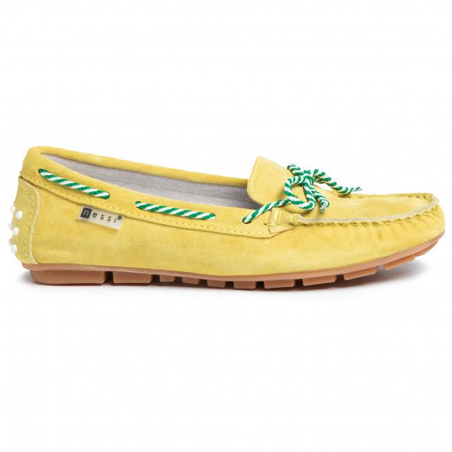 Mokasyny Nessi 18307 Zolty W Mokasyny Polbuty Damskie Eobuwie Pl Boat Shoes Sperry Boat Shoe Shoes