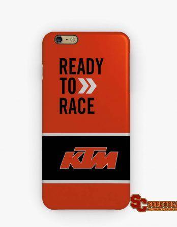 Ktm Ready To Race Logo Apple Iphone 5 5s 5c 6 6s 7 Plus Samsung