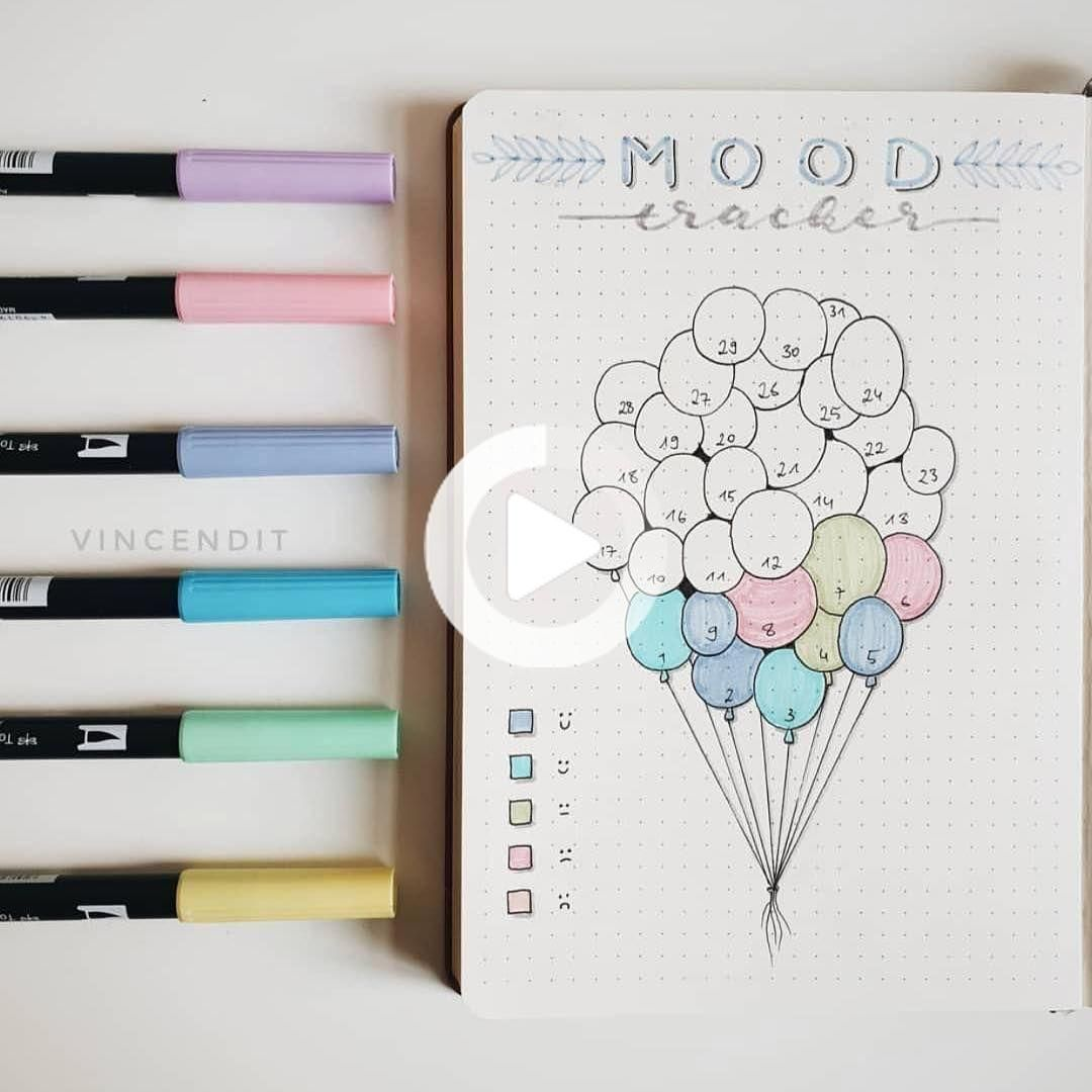 Great 200 ideas and bright doodles from the Bullet Journal rock the