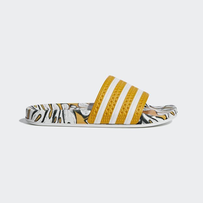 Adilette Slippers geel D96682 | Bodysuit, Adidas, Jumpsuit