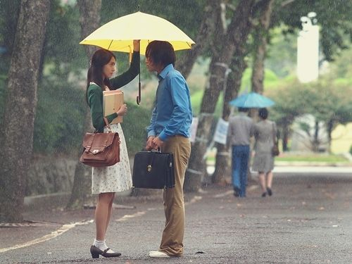 """It's crazy to love someone who AVOIDS you, but it's crazier to know that someone who AVOIDS you secretly LOVES you... ""    Love Rain is a new romance drama that still air in Korean television right now. Main stars are SNSD's Yoona and Jang Geun Seuk."