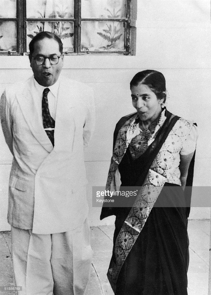 Dr Bhimrao Ramji Ambedkar , the Indian Minister for Law