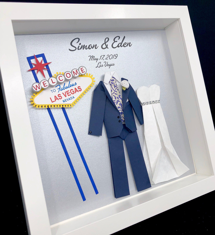 Personalized Las Vegas Wedding Gift, Las Vegas First