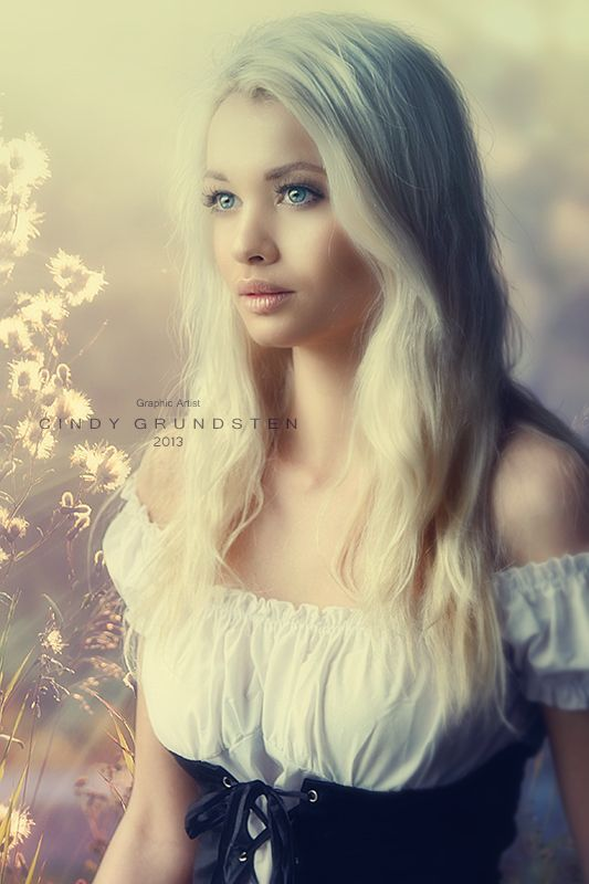 """Photomanipulation """"Will you be there"""" by Cindy Grundsten Photography by Cathleen Tarawhiti"""