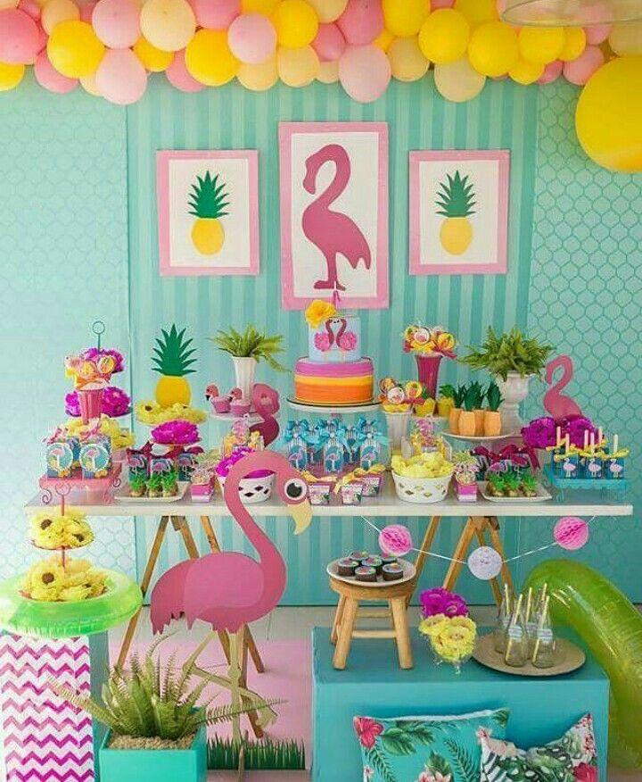 Flamingo decoraciones de fiestas pinterest - Decoraciones fiestas de cumpleanos ...