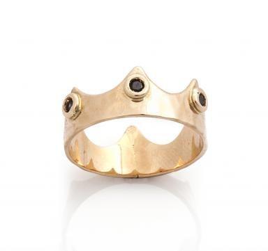 Black+Crown+Ring | Accessories | Pinterest | Crown, Ring ...