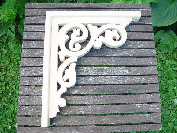 "L/&G/'s Traditional Victorian Gingerbread Fretwork Wooden Porch Trim Bracket 14/"""