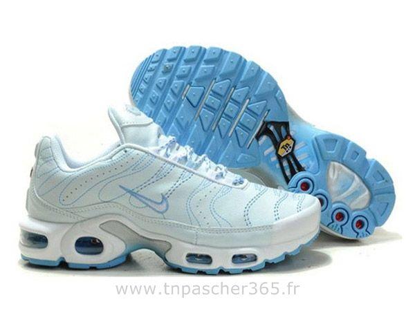 best place factory outlet new arrivals Chaussures de Nike Air Max Tn Requin Homme Blanc et Clair bleu ...